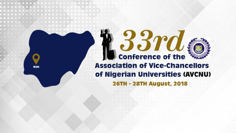 33rd Conference of the Association of  Vice-Chancellors of Nigerian Universities