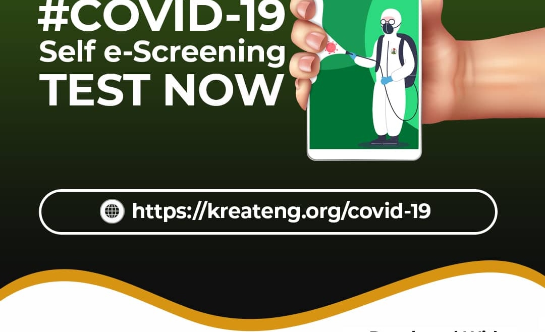 Update on the Covid-19 e-Screening Tool