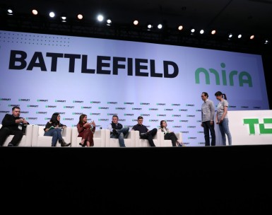 Application extension: pitch in Startup Battlefield at Disrupt Berlin
